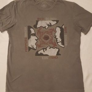 Lucky Brand Red Hot Chili Peppers Tshirt